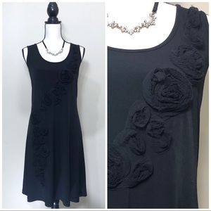 Calvin Klein Black Sleeveless Tank Dress size 14